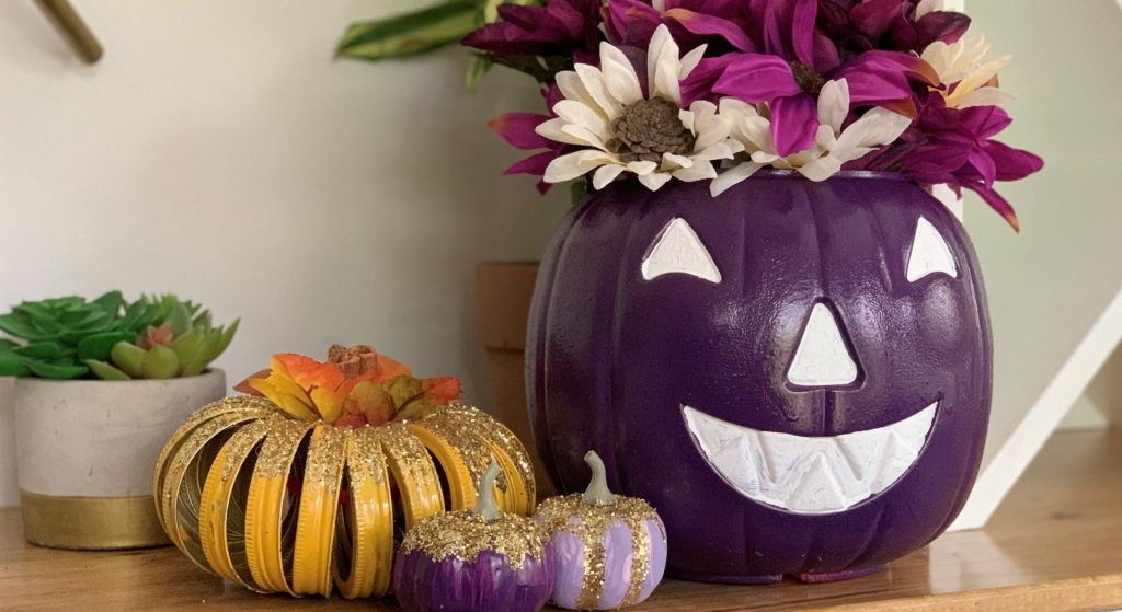 Raise awareness and show support for the epilepsy community by decorating and displaying a purple pumpkin